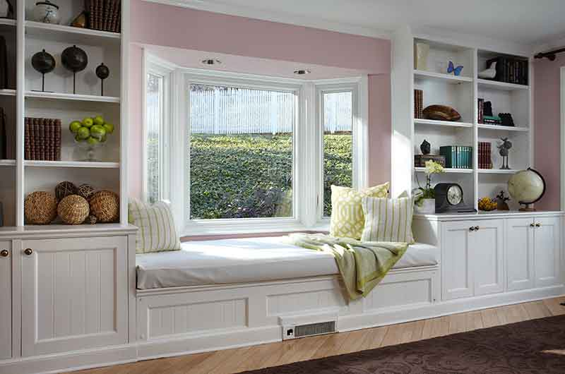 Bay Windows for Bench Seating Nook