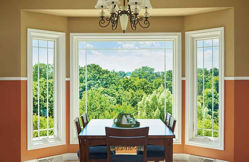Bay Windows For the Dining Area