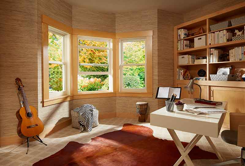 Bay Windows For the Study Room