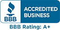 BBB Accredited Business: Rating A+